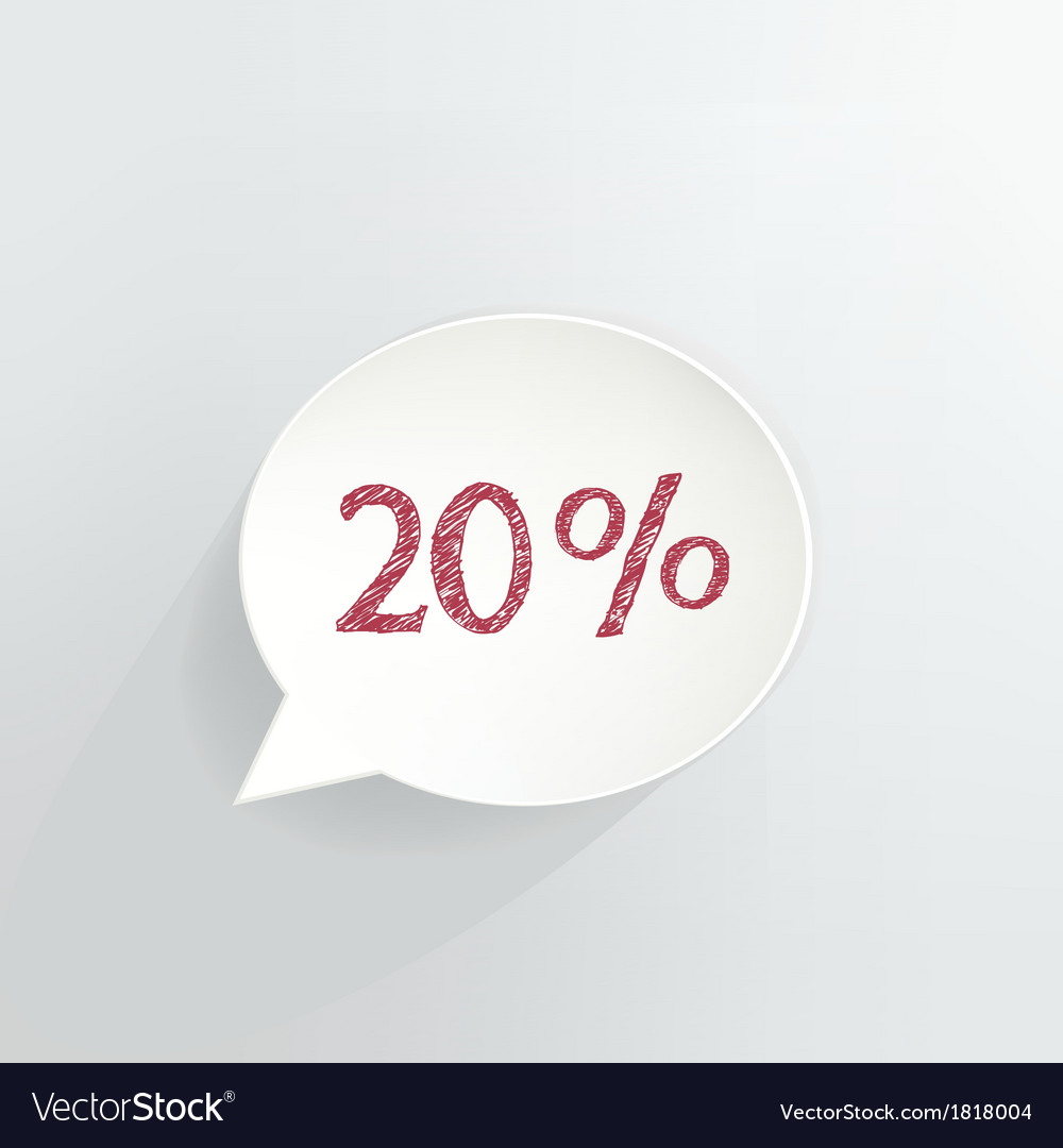 20 off vector | Price: 1 Credit (USD $1)
