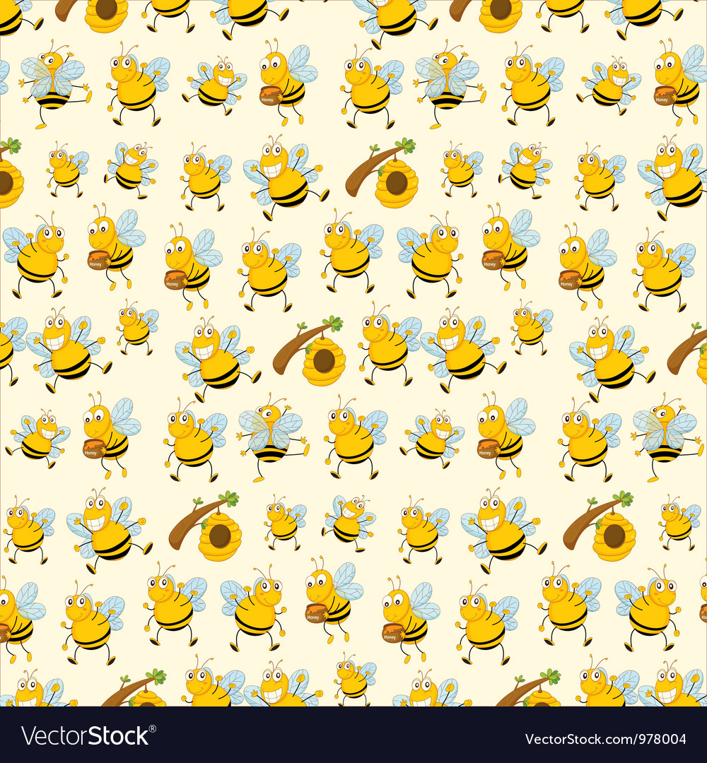 Bee paper vector | Price: 1 Credit (USD $1)