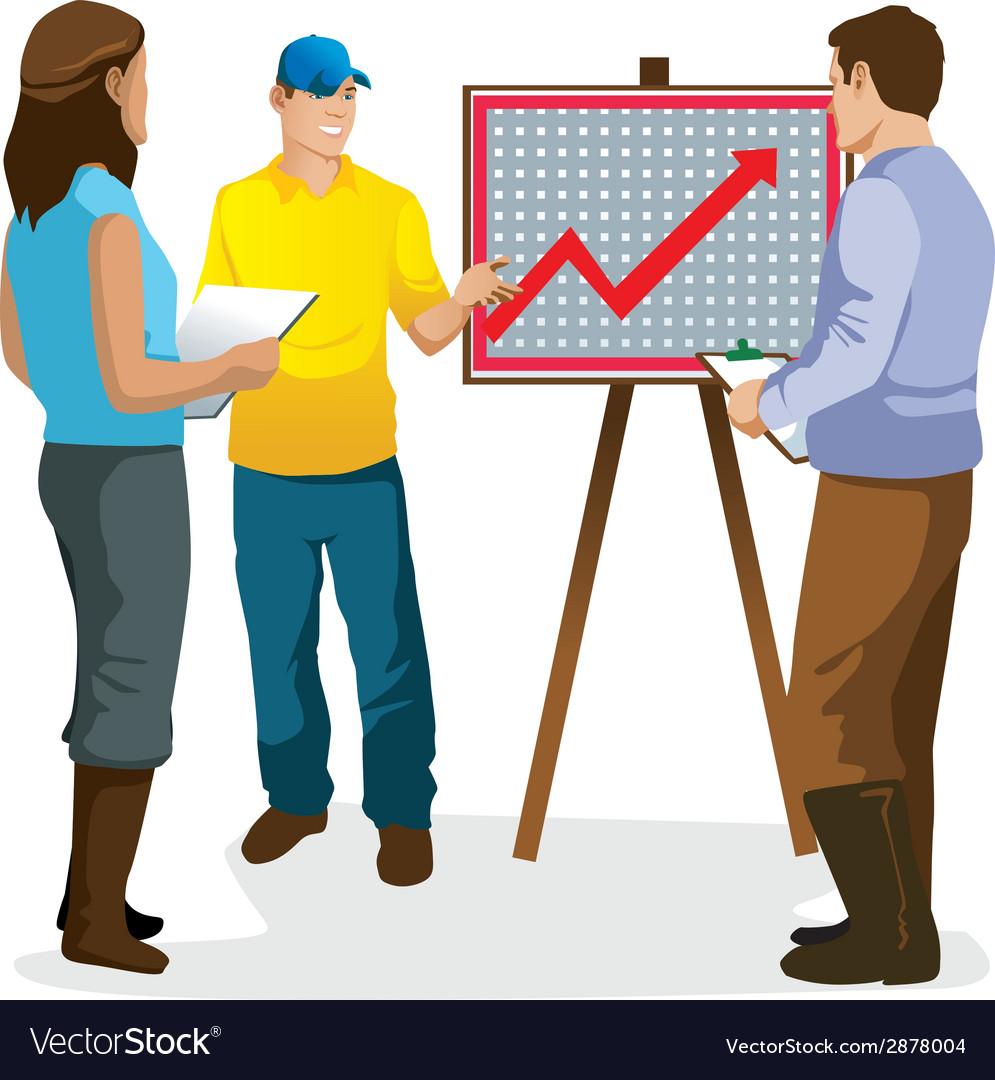 Presentation graphics of farme vector | Price: 1 Credit (USD $1)