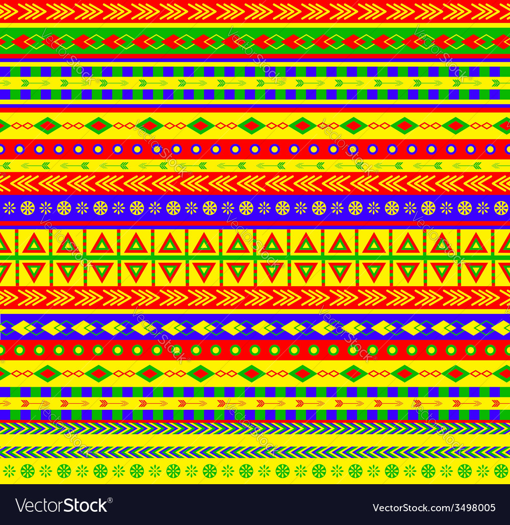 Aztec pattern vector | Price: 1 Credit (USD $1)