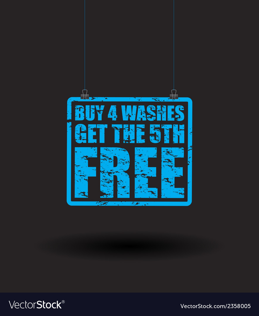 Car washes vector | Price: 1 Credit (USD $1)