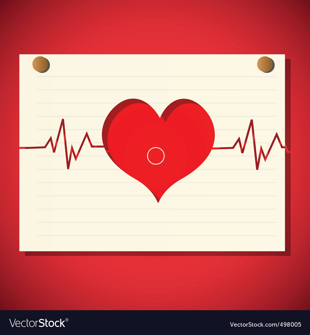 Cardiology graph vector | Price: 1 Credit (USD $1)