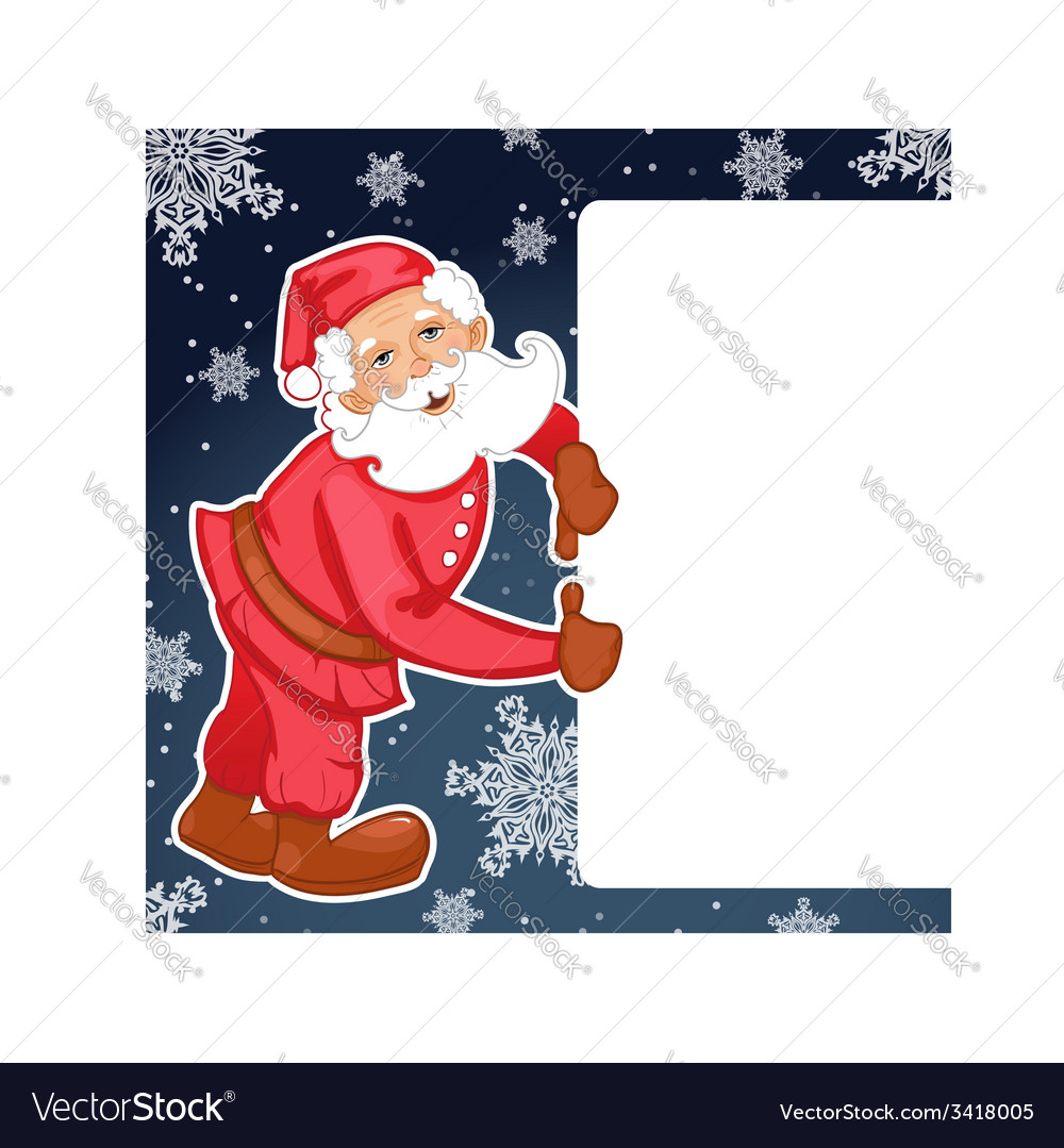 Santa claus with christmas greetings eps10 vector   Price: 1 Credit (USD $1)