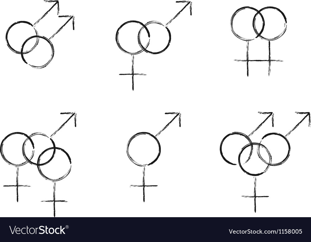 Sexual identity vector | Price: 1 Credit (USD $1)