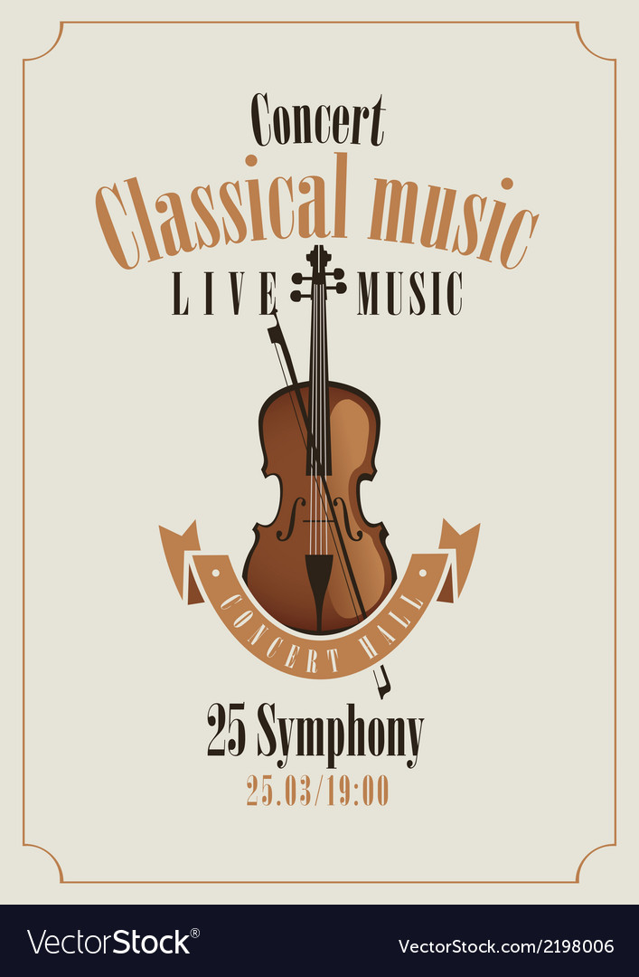 Classical music vector | Price: 1 Credit (USD $1)