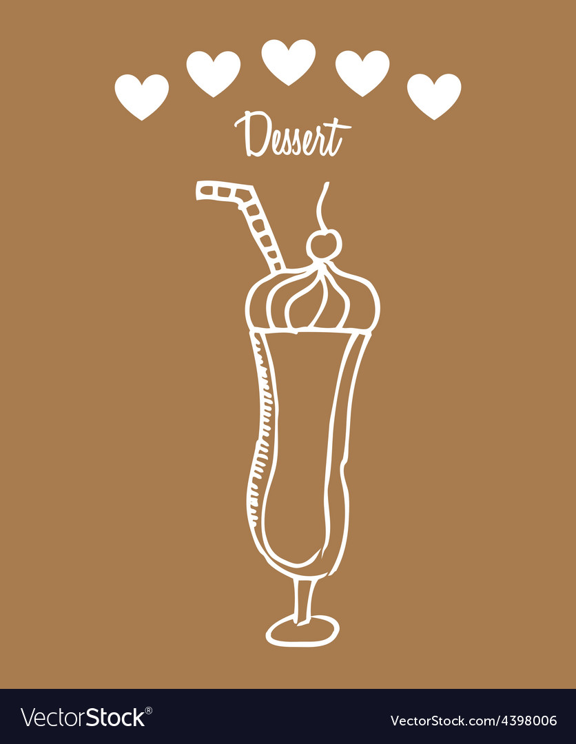 Dessert icon vector | Price: 1 Credit (USD $1)