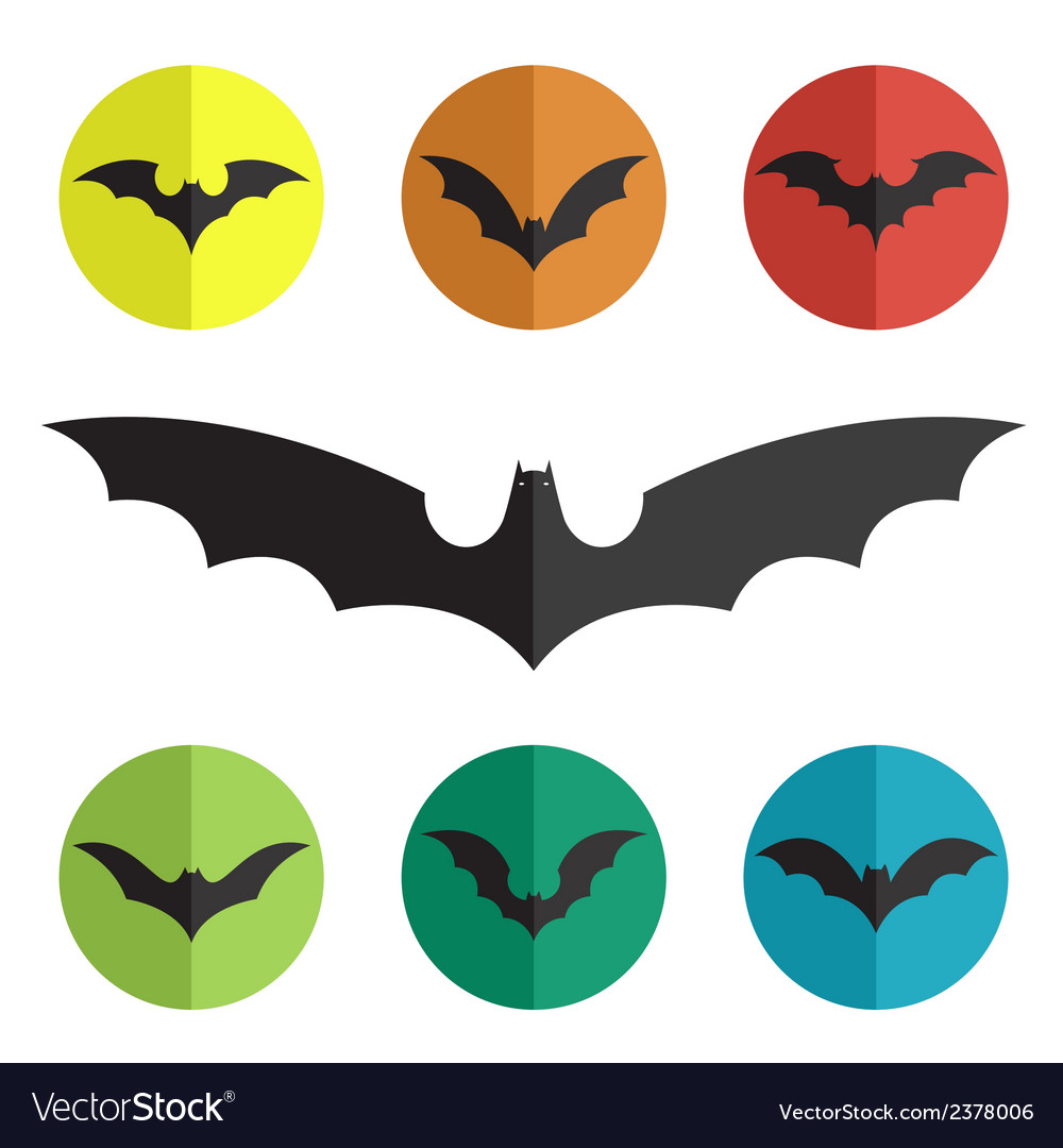 Group of bat vector | Price: 1 Credit (USD $1)