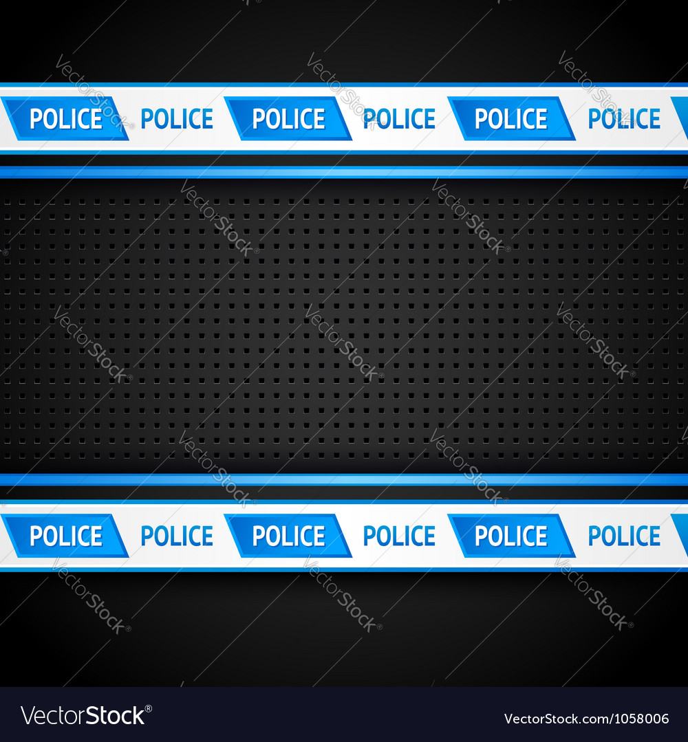 Metallic perforated black sheet police background vector | Price: 1 Credit (USD $1)