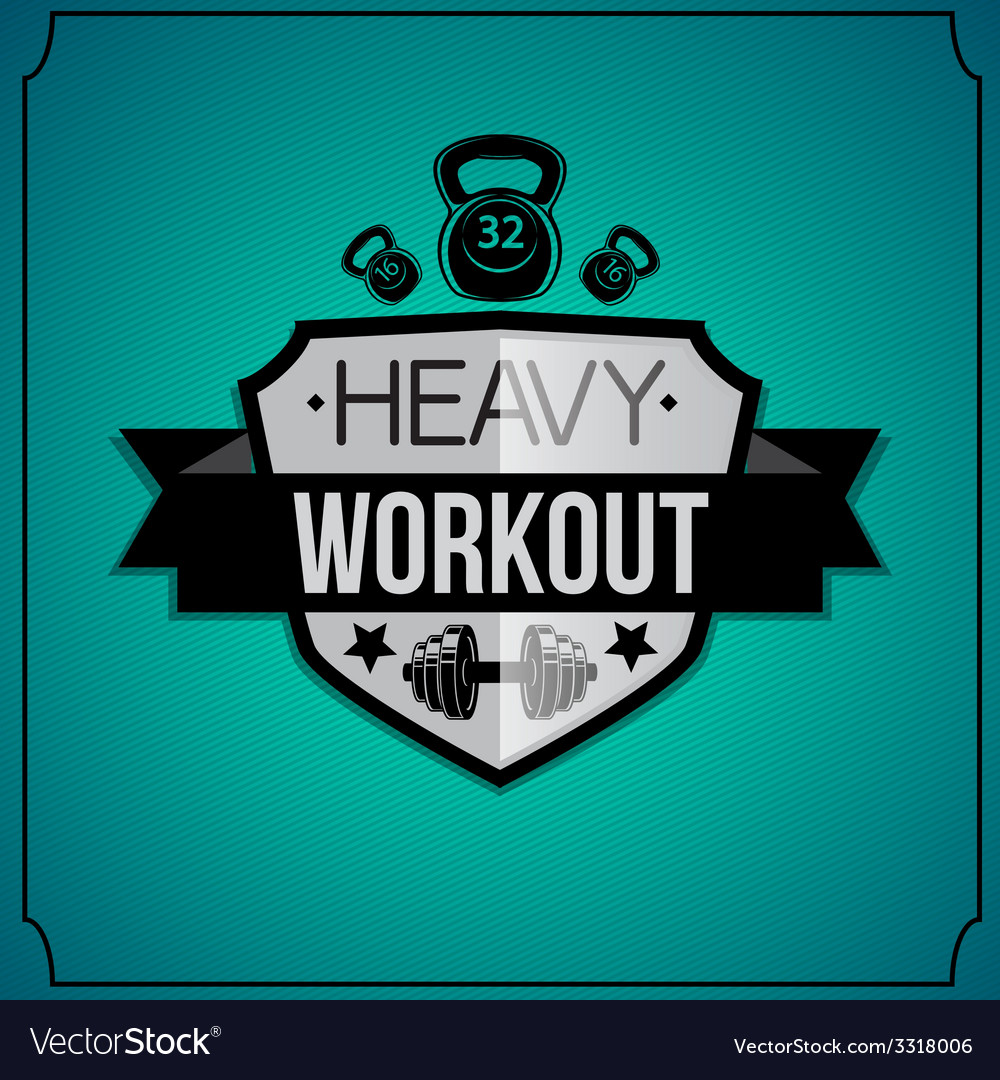 Workout background vector | Price: 1 Credit (USD $1)