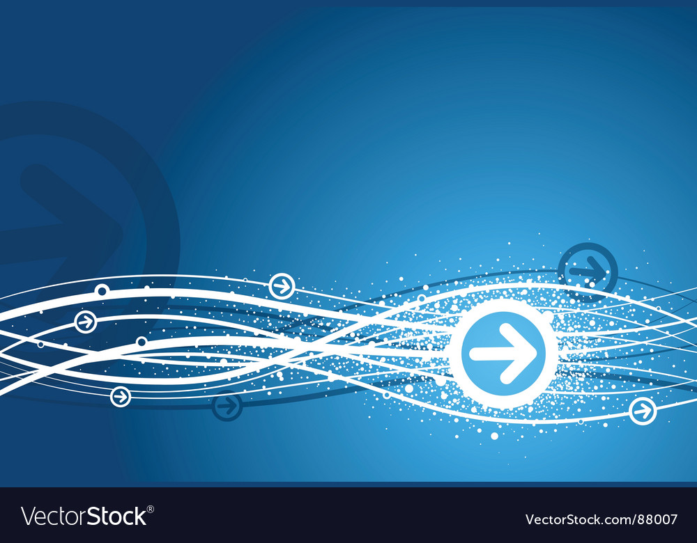 Blue arrow background vector | Price: 1 Credit (USD $1)