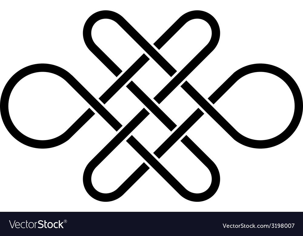 Endless celtic knot vector | Price: 1 Credit (USD $1)