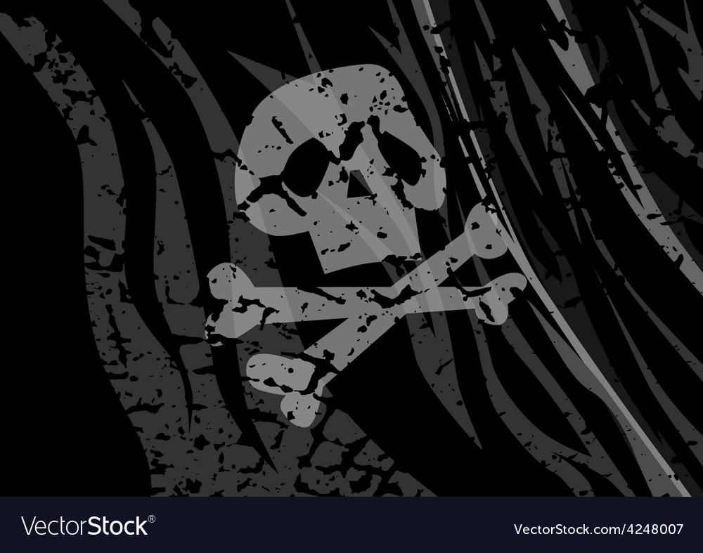 Flag pirates vector | Price: 1 Credit (USD $1)