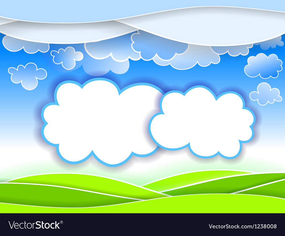 Abstract landscape background vector   Price: 1 Credit (USD $1)