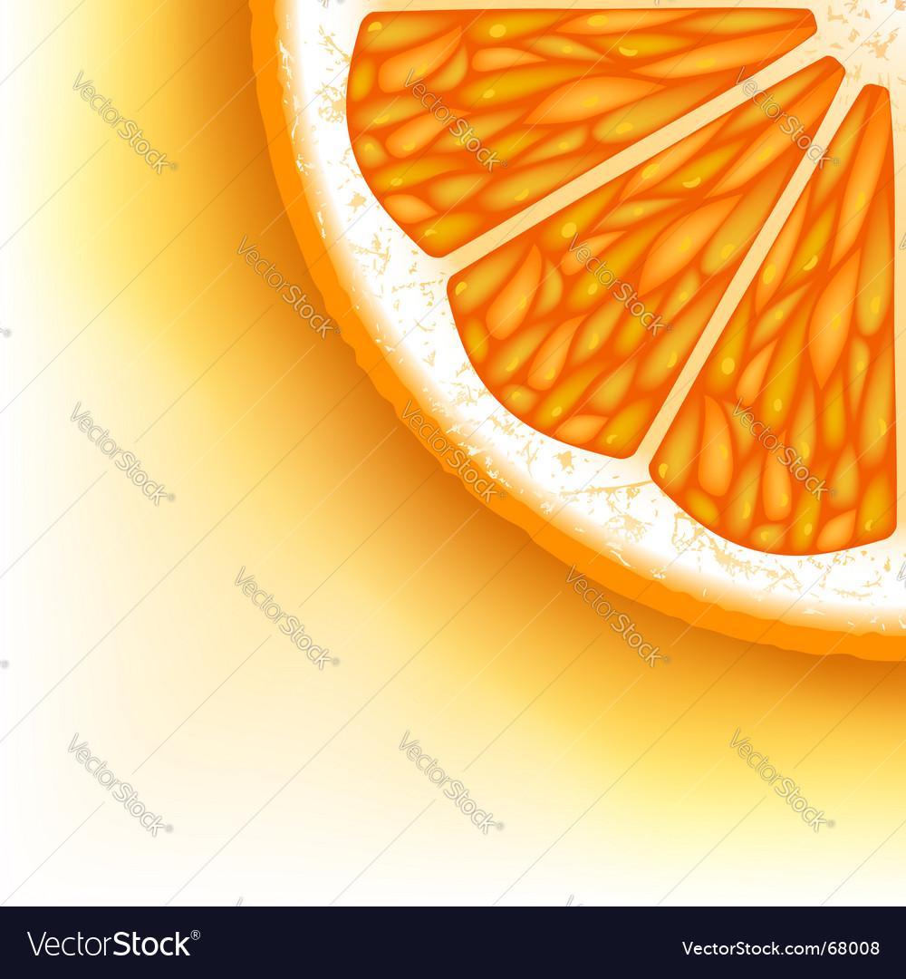 Orange slice vector   Price: 1 Credit (USD $1)