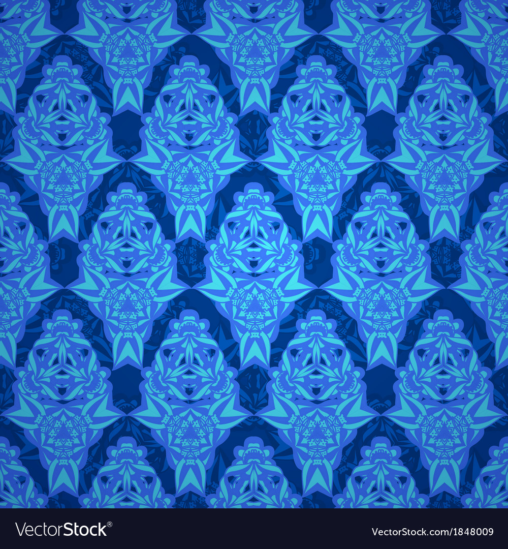 Baroque endless pattern vector | Price: 1 Credit (USD $1)