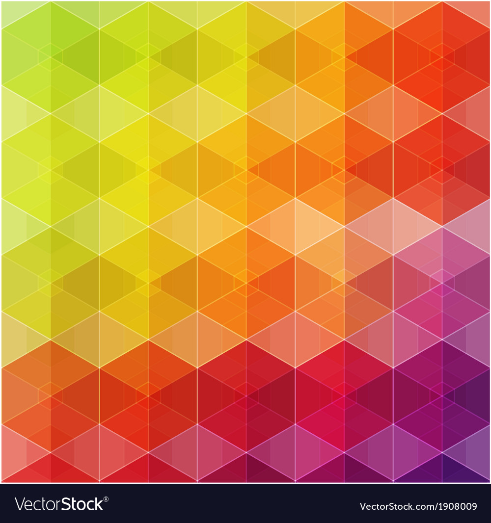Geometric hipster retro background vector | Price: 1 Credit (USD $1)