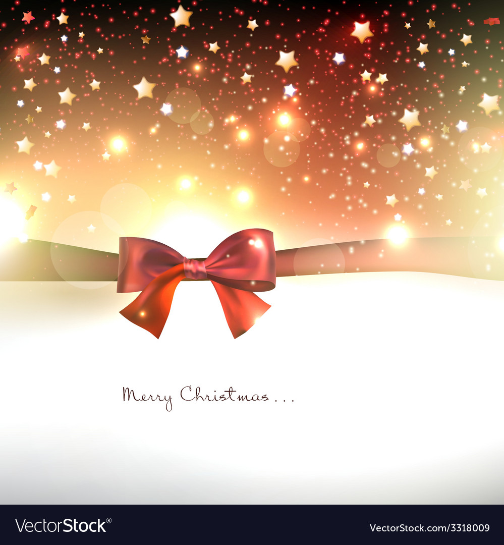 Greeting card with red bows and copy space vector | Price: 3 Credit (USD $3)