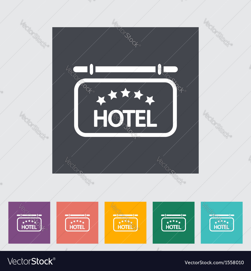 Hotel vector | Price: 1 Credit (USD $1)