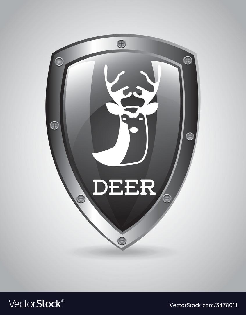 Deer design vector | Price: 1 Credit (USD $1)