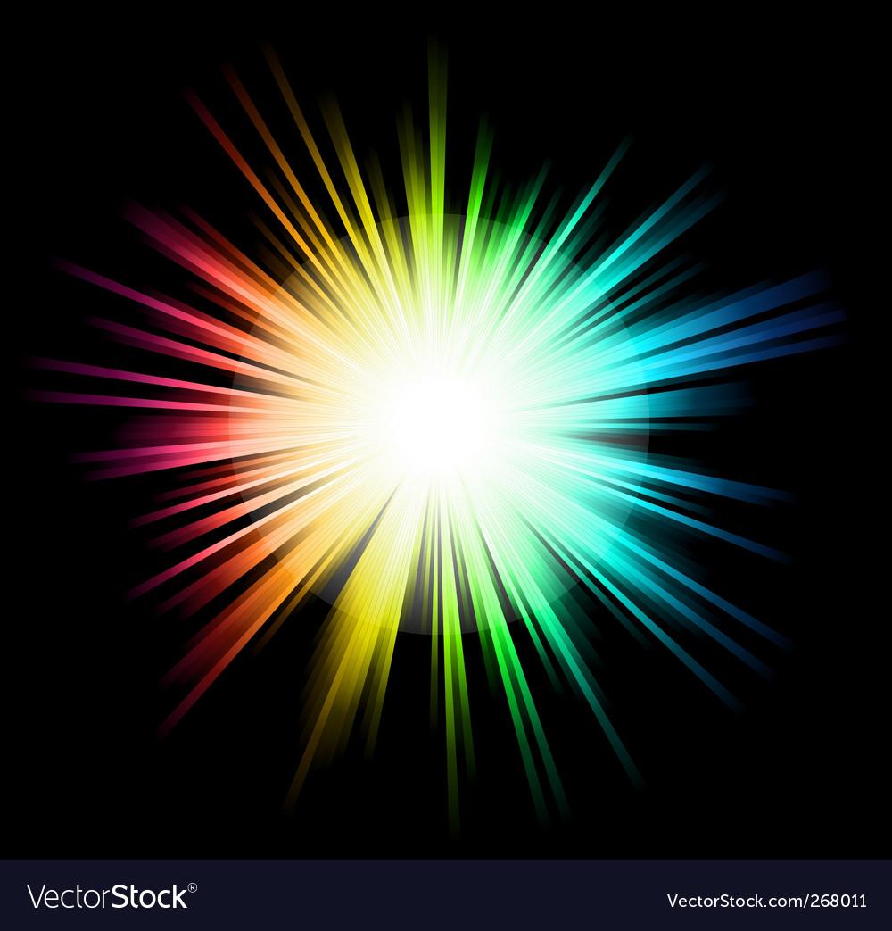 Light sparkle vector | Price: 1 Credit (USD $1)