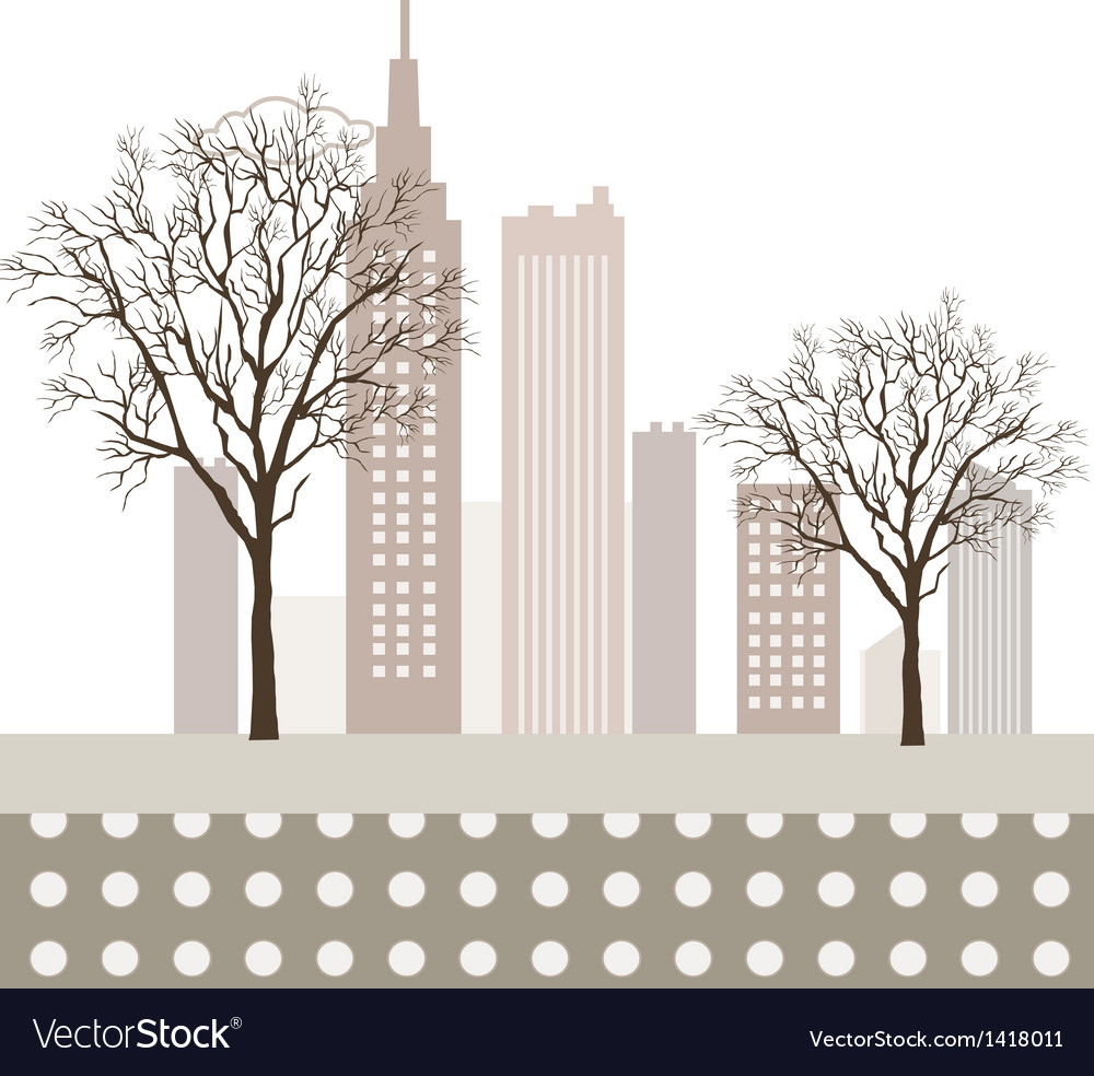 Park cityscape vector | Price: 1 Credit (USD $1)