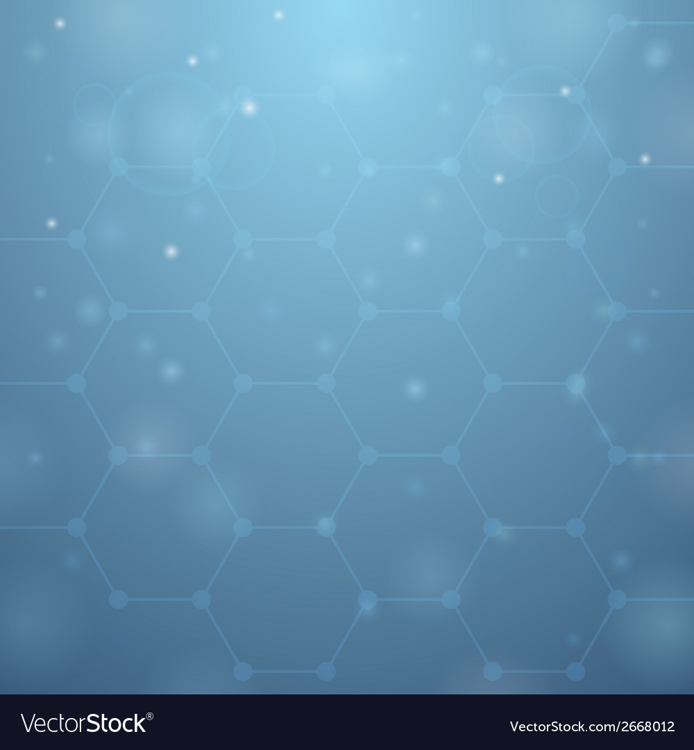 Blue hive background vector | Price: 1 Credit (USD $1)