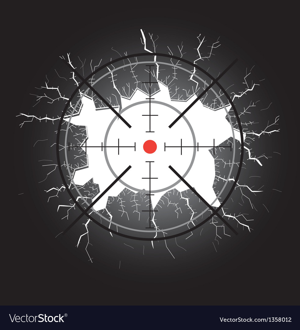 Crosshair after shooting vector | Price: 1 Credit (USD $1)