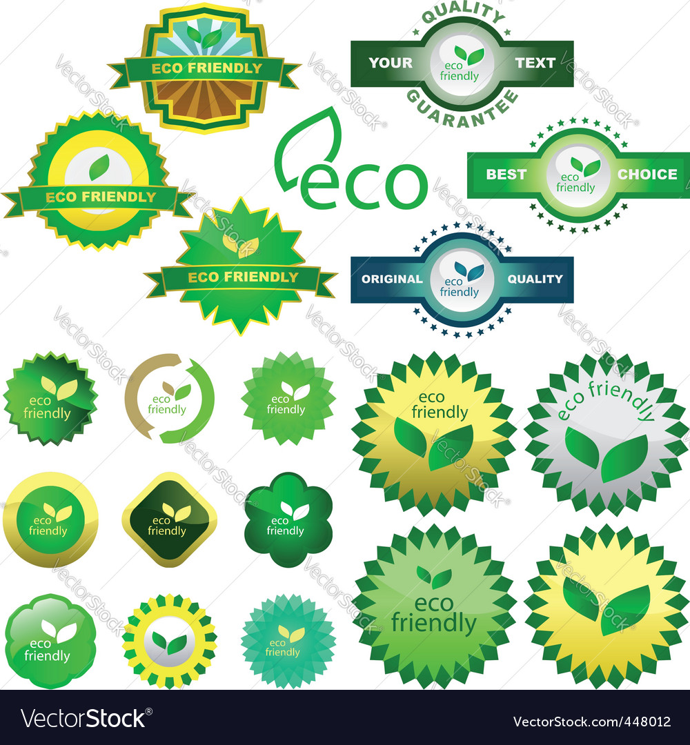 Eco vector | Price: 1 Credit (USD $1)