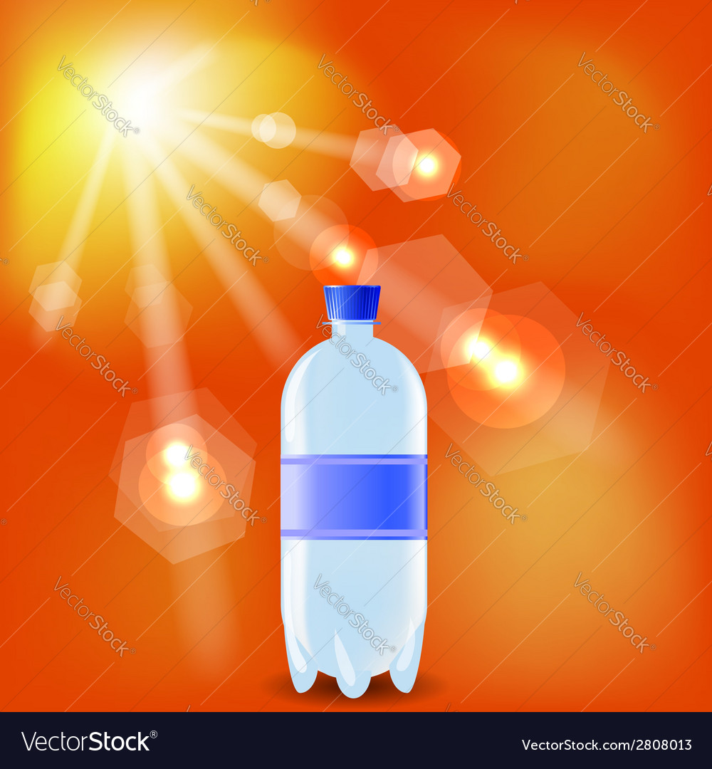 Bottle of water vector | Price: 1 Credit (USD $1)