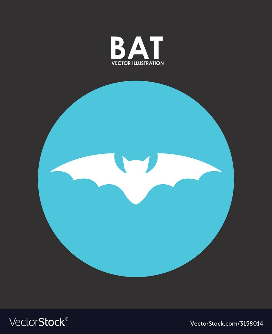 Bat design vector | Price: 1 Credit (USD $1)