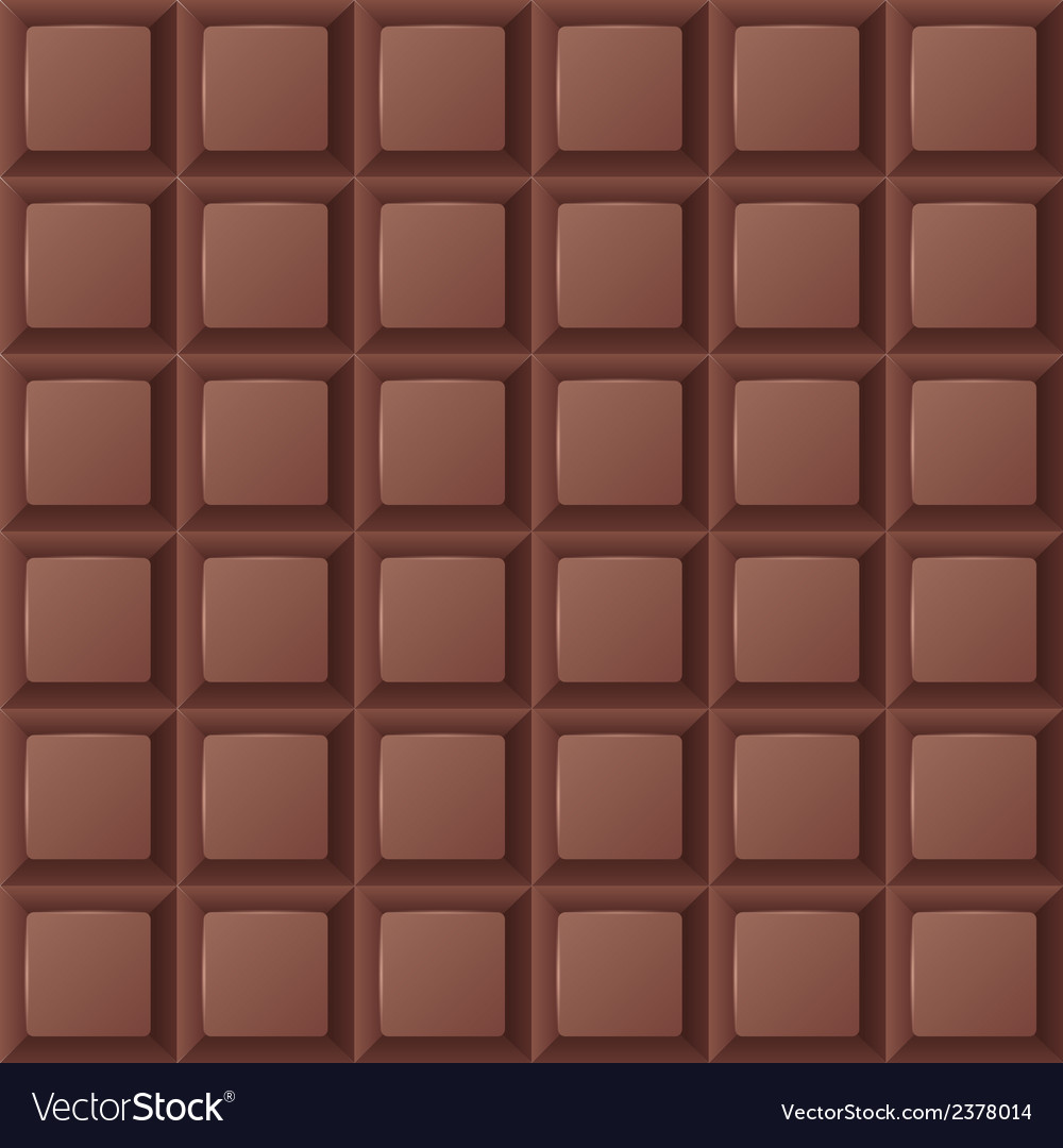 Chocolate bar seamless vector | Price: 1 Credit (USD $1)