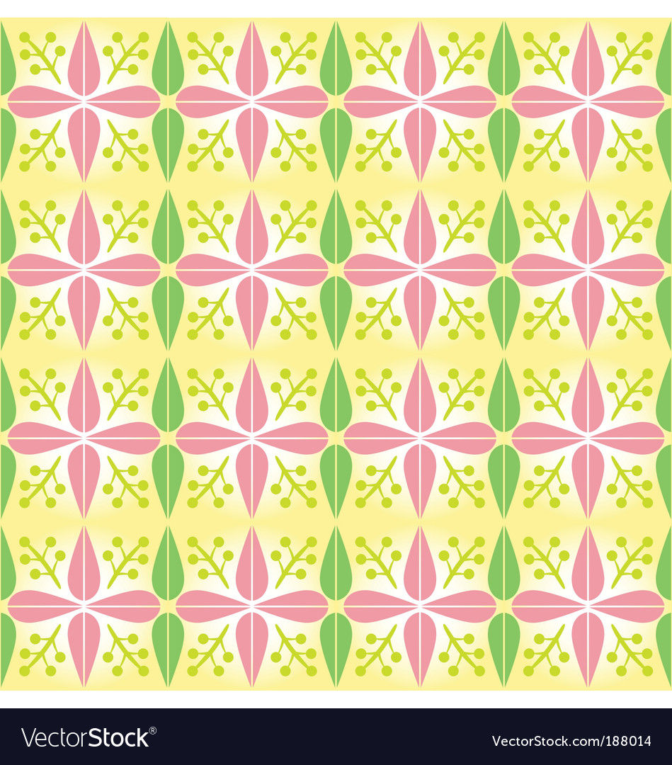 Early spring pattern vector | Price: 1 Credit (USD $1)