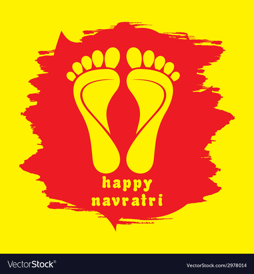 Happy diwali or navratri festival greeting vector | Price: 1 Credit (USD $1)
