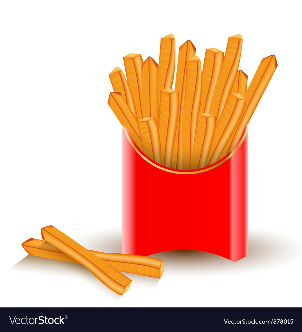 French fries vector | Price: 3 Credit (USD $3)