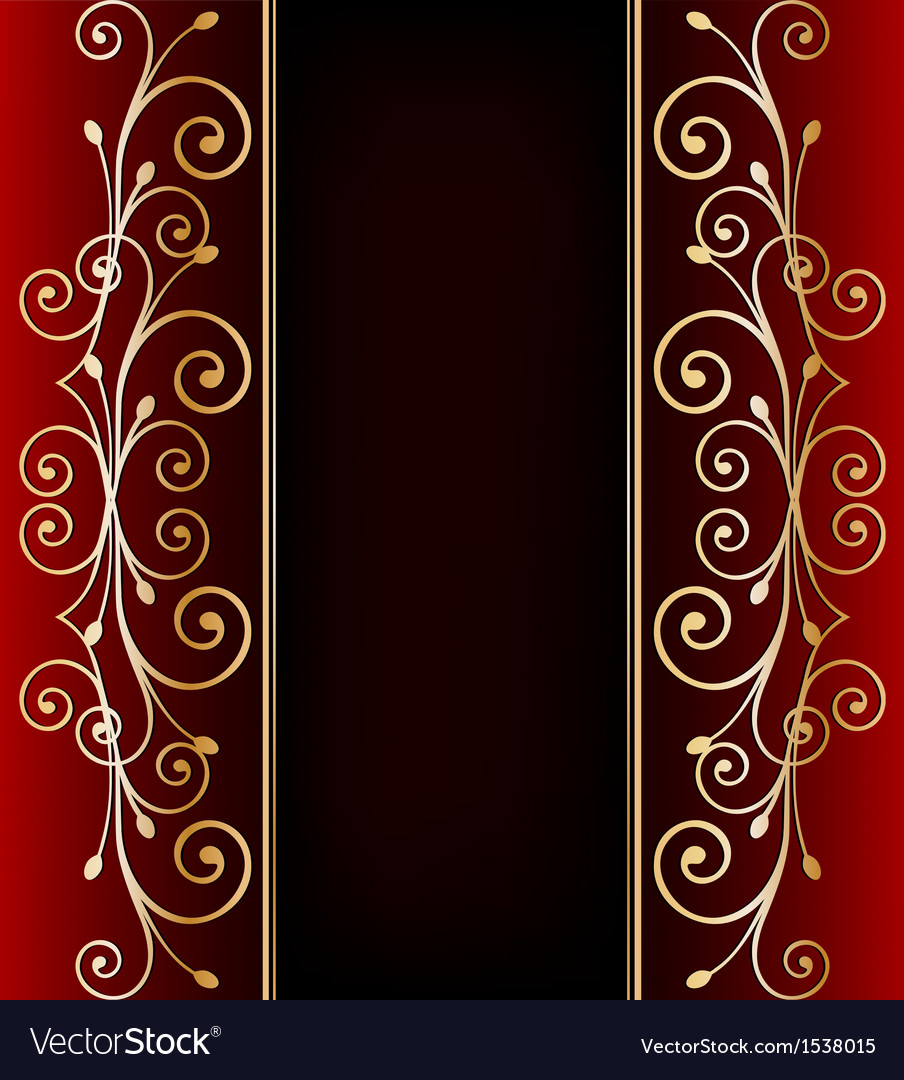 Luxurious invitation card vector | Price: 1 Credit (USD $1)