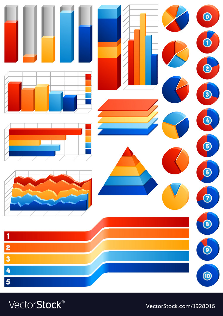 Infographics set vector | Price: 1 Credit (USD $1)