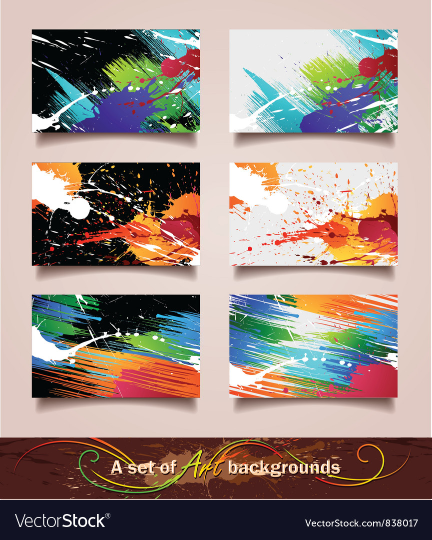 Art backgrounds vector | Price: 3 Credit (USD $3)