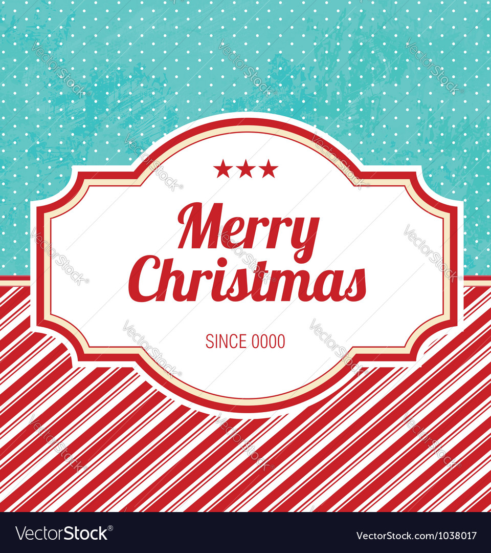 Christmas design template vector | Price: 1 Credit (USD $1)