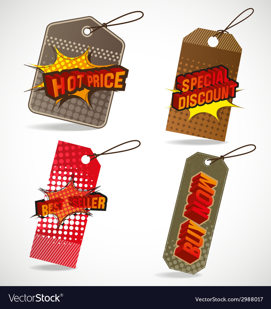 Tag vector | Price: 1 Credit (USD $1)