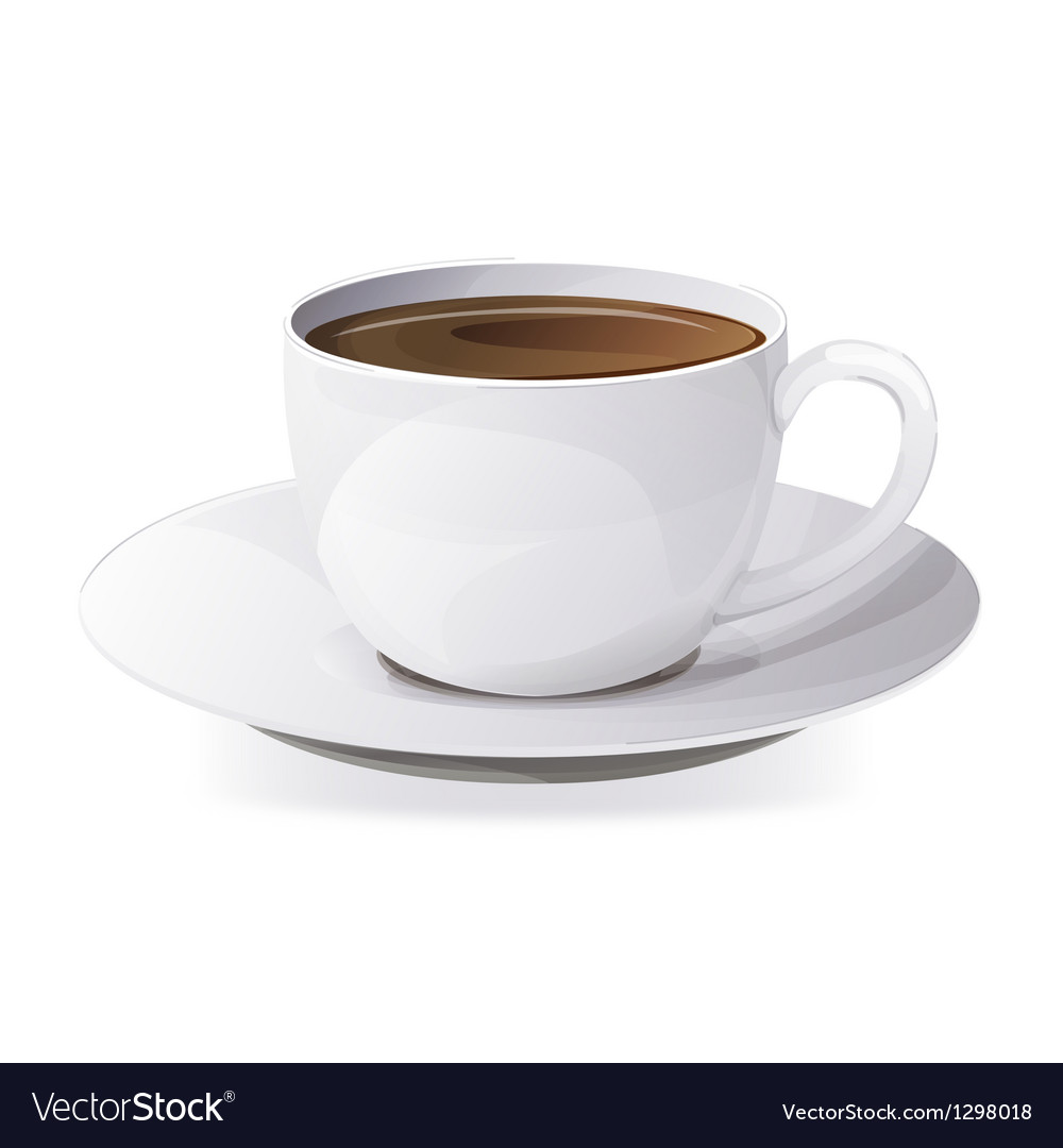A cup of coffee vector | Price: 3 Credit (USD $3)