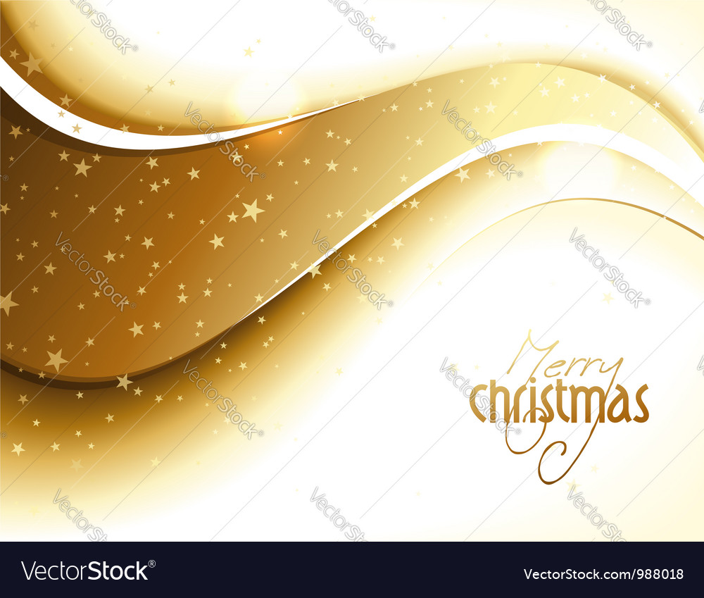 Abstract golden glittery christmas design vector | Price: 1 Credit (USD $1)