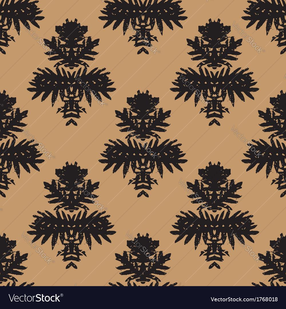 Simple elegant block printed pattern vector   Price: 1 Credit (USD $1)