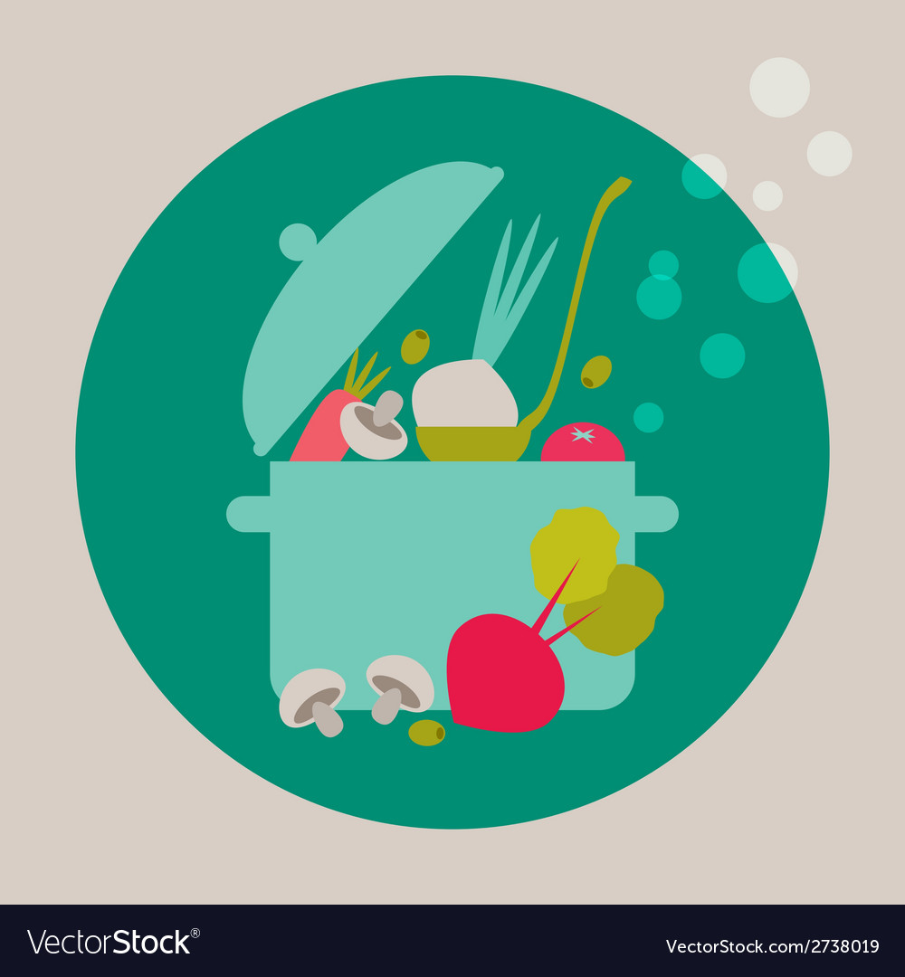Cooking card vector | Price: 1 Credit (USD $1)