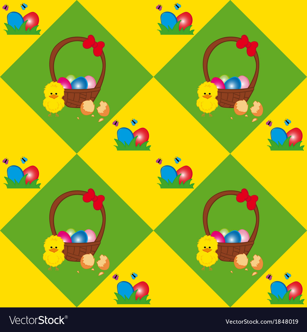 Easter basket texture vector | Price: 1 Credit (USD $1)