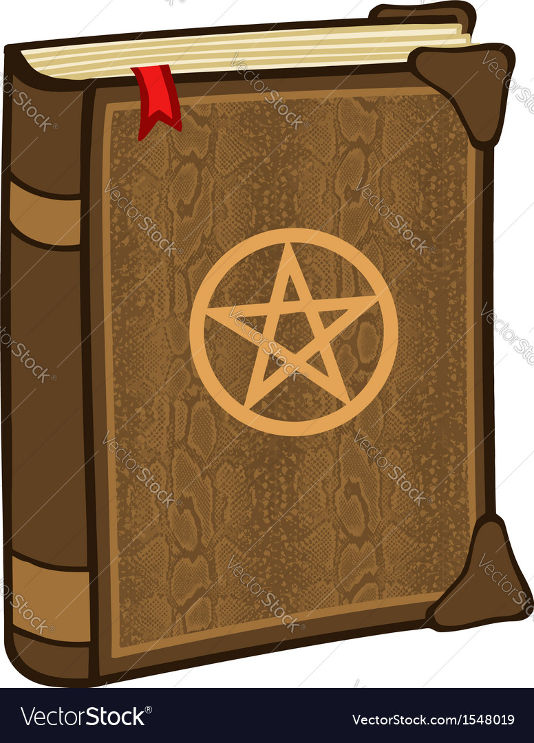 Magic spell book vector | Price: 1 Credit (USD $1)