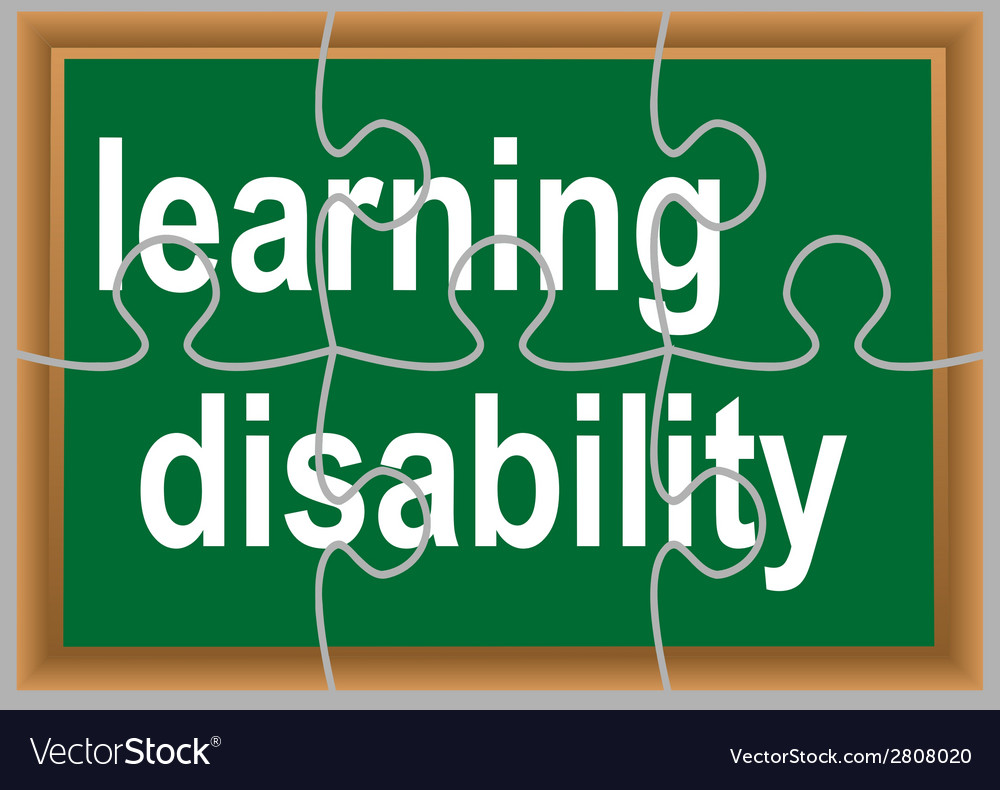 Learning disability vector | Price: 1 Credit (USD $1)