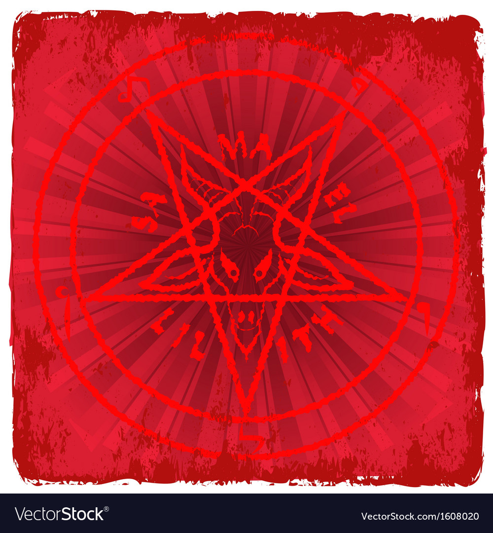 Symbol of satan vector | Price: 1 Credit (USD $1)