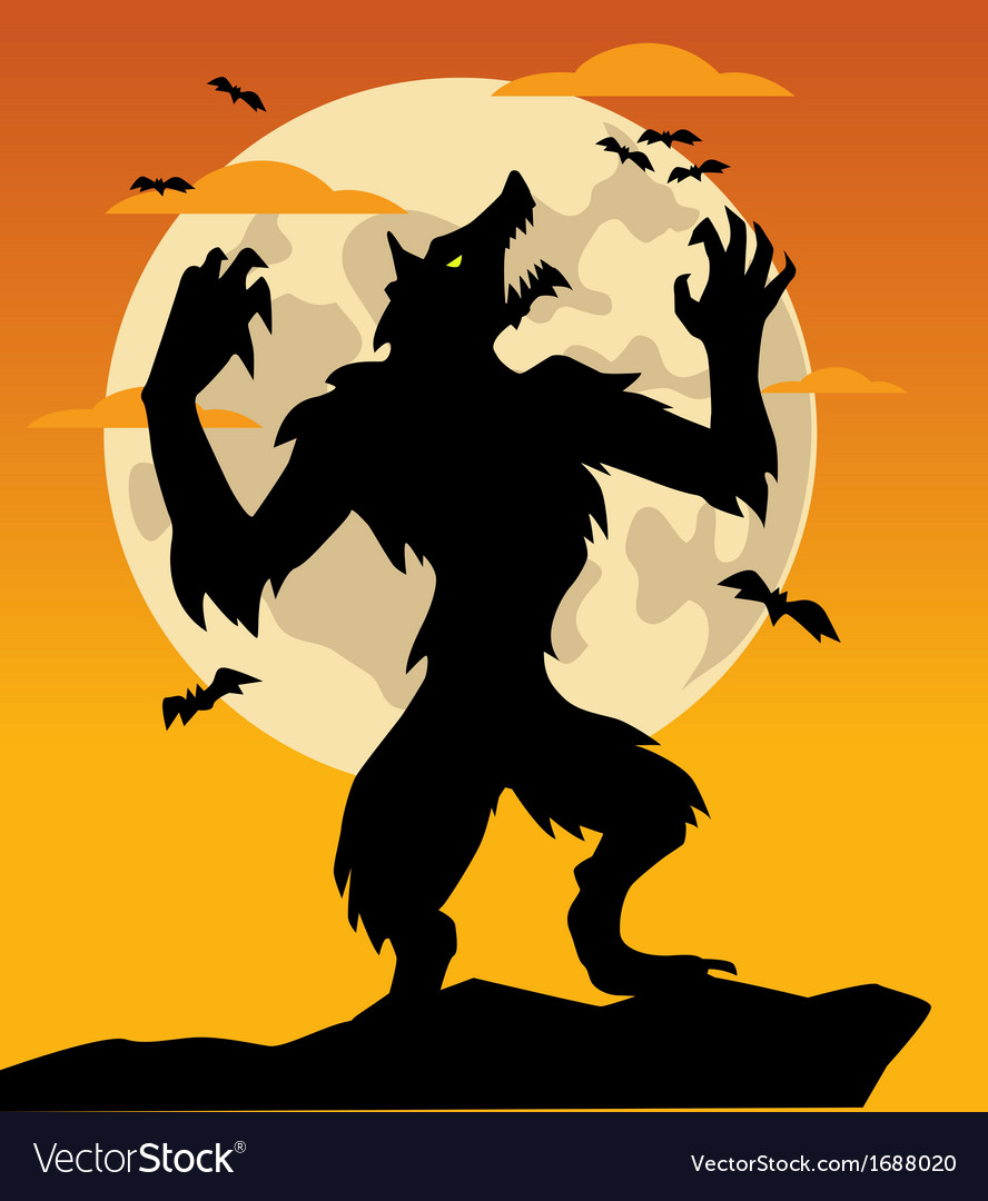 Werewolf vector | Price: 1 Credit (USD $1)