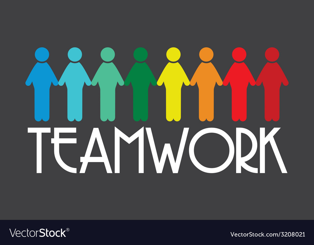 Team work1 resize vector | Price: 1 Credit (USD $1)