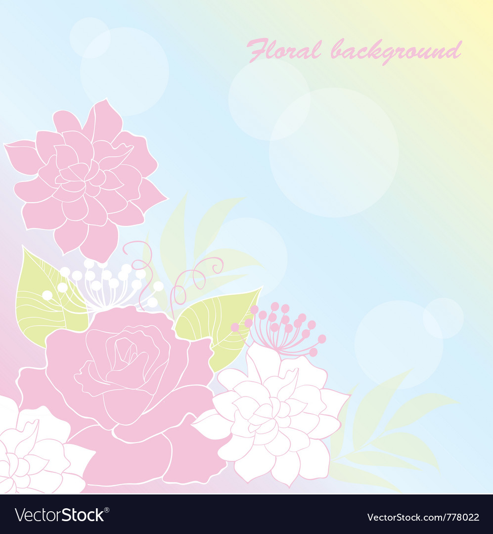 Background rose vector | Price: 1 Credit (USD $1)